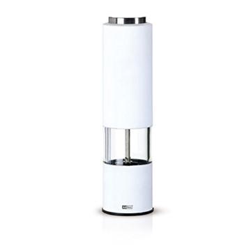 Ad Hoc Elektrische Pfeffer- Oder Salzmühle Tropica Weiss, Ceramic Mahlwerk Ceracut® -