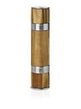 Ad Hoc MP90 Doppelmühle Duomill für Pfeffer und Salz, Akazienholz, Ceramic Mahlwerk, D: 5,5 cm, Höhe 21 cm -
