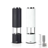 AdHoc Design Mühlenset elektrische Pfeffermühle + Salzmühle TROPICA -