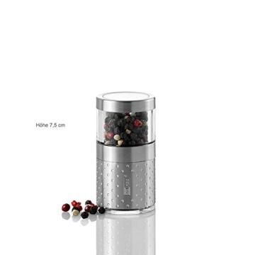 AdHoc Pfeffermühle - Salzmühle BASSO DOTS 7,5cm -