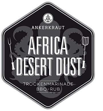 Africa Desert Dust, afrikanischer BBQ-Rub, 250gr -
