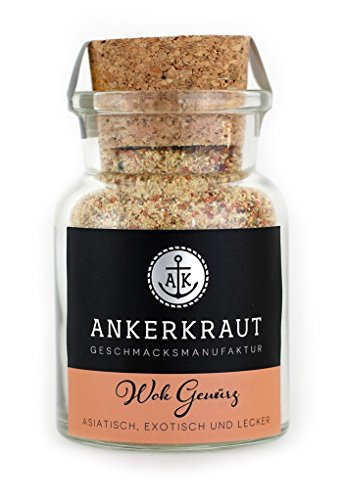 Ankerkraut Wok Gewürz Korkenglas -