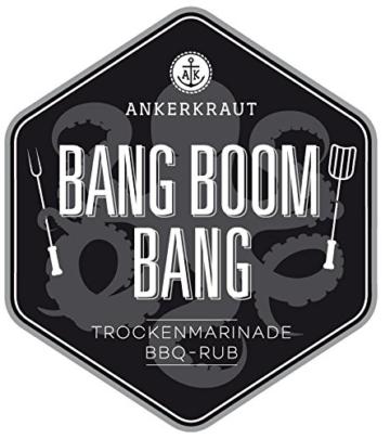 Bang Boom Bang, BBQ-Rub im Streuer, 200gr -