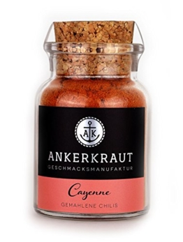 Cayennepfeffer - scharfe gemahlene Chili-Schoten - 65gr -