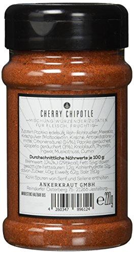 Cherry Chipotle, Kirsch BBQ-Rub im Streuer, 220gr -