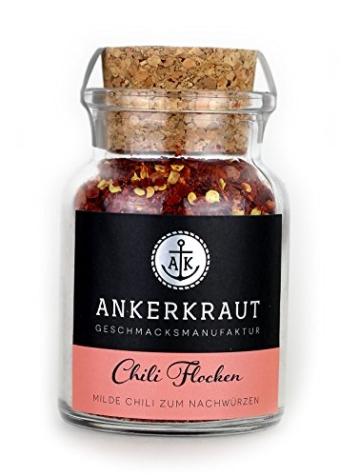 Chili Flocken (Chili mit Kernen), 65 Gramm -