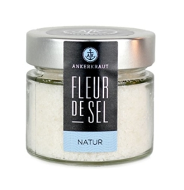 Fleur de Sel de Guérande - 120gr im Glas mit Schraubdeckel -