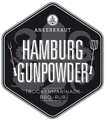 Hamburg Gunpowder, BBQ-Rub 250gr -