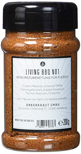 Living BBQ No. 1, BBQ Rub im Streuer -