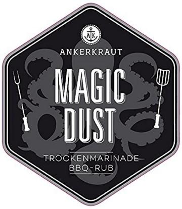 Magic Dust, BBQ-Rub 250gr -
