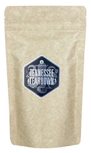 "Memphis BBQ Rub ""Tennessee Teardown"", 250gr -"