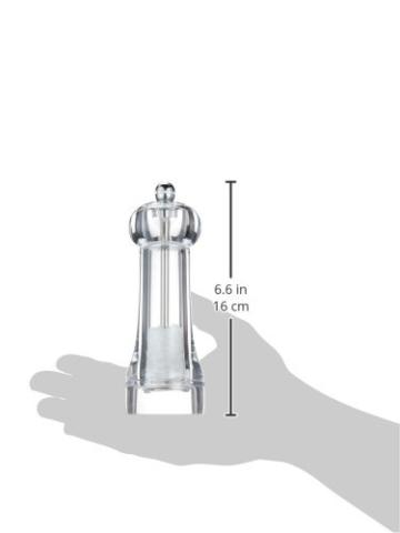 Peugeot 20151871 Toul Salzmühle Acryl, 4,5 x 4,5 x 16 cm, transparent -