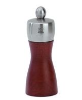 Peugeot 22501 Fidji Pfeffermühle Holz, 5,2 x 5,2 x 12 cm, kirsche -