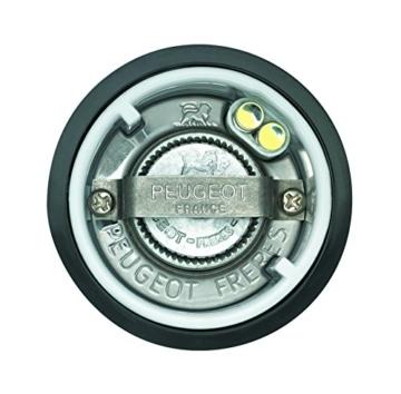 Peugeot 2/27162 Mühlen-Duo Elis Sense Edelstahl, uSelect, 20 cm mit Licht und Sensor-Automatik -