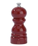 Peugeot 23560 Paris Pfeffermühle Holz, 5,5 x 5,5 x 12 cm, rot lackiert -