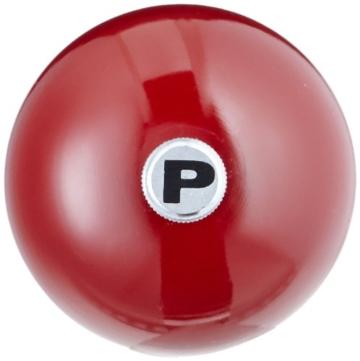 Peugeot 23645 Paris Pfeffermühle Holz, 6,7 x 6,7 x 30 cm, rot lackiert -