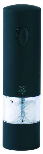 Peugeot 24598 Onyx Salzmühle Plastik, 5,4 x 5,4 x 20 cm, schwarz -
