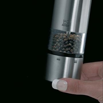 Peugeot 27162 Pfeffermühle Elis Sense elektrisch 20 cm mit LED -