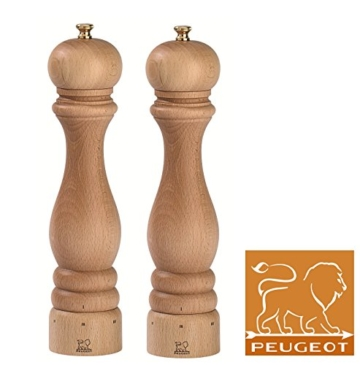 Peugeot Paris Set Pfeffermühle + Salzmühle Nature u´select 27 cm -