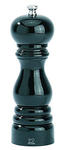 Peugeot Set PARIS Pfeffermühle + Salzmühle schwarz / Mohn rot lackiert 18 cm -