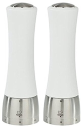 Peugeot Set Pfeffermühle + Salzmühle Madras weiss uselect 21 cm -