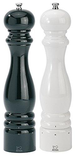 Set Paris Pfeffermühle und Salzmühle uselect schwarz/weiß 30 cm -