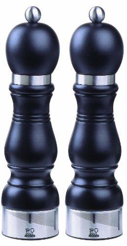 Set Peugeot Pfeffermühle und Salzmühle Chateauneuf 23 cm schwarz -