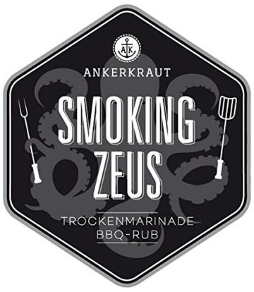 Smoking Zeus, Gyros und Grill Gewürz, 200gr -