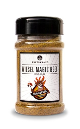 Wiesel Magic Beef, BBQ Rub im Streuer -