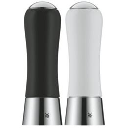 WMF 0667049990 Salz- und Pfeffermühlenset 2-teilig, schwarz / weiß -