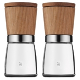 WMF Gewürzmühlen-Set 2-teilig Ceramill Nature  mit Mahlwerk aus Keramik -