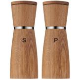 WMF Salz-/ Pfeffermühlen-Set 2-teilig Ceramill Nature mit Mahlwerk aus Keramik -