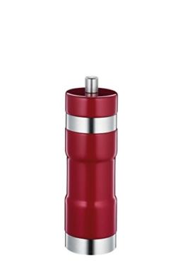 Zassenhaus 0000022902 Pfeffermühle, Edelstahl, rot, 7 x 5 x 18 cm -