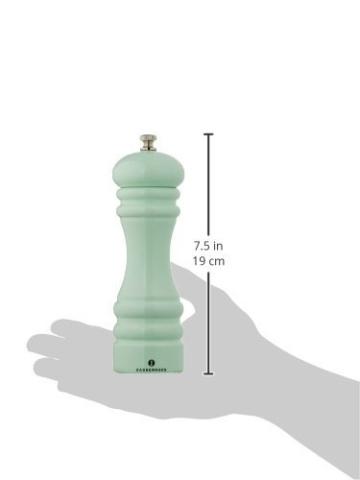 Zassenhaus 0000023053 Pfeffermühle, Edelstahl, grün, 7 x 5 x 18 cm -