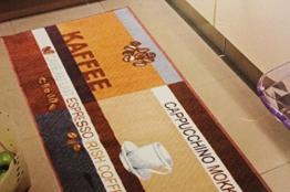 Andiamo Teppichläufer Küchenläufer 67 x 200 cm ver.s Farben/Motive (Braun) -