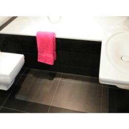 Desktex Küchenmatte / Badezimmermatte antimikobiell 120x60cm transparent -
