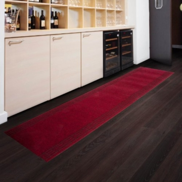 Floori Küchenläufer - 9 Größen wählbar - 66x180cm, rot -