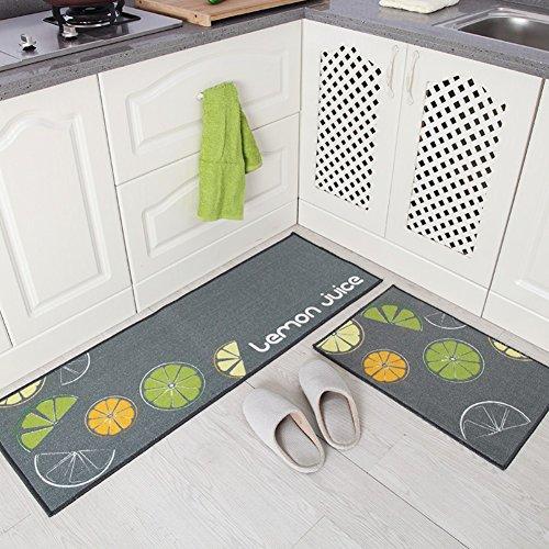 Indeedshare Kitchen Rugs Mats Kuchenlaufer Teppiche Gummiruckseite