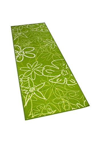 Kitchen Runner Washable and Öko-Tex 100 Non-Slip Green and 2 sizes available -