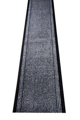 Küchenteppich / Küchenmatte / Teppichläufer Kongo grau, Größe Auswählen:80 x 2400 cm -