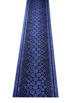 Küchenteppich / Küchenmatte / Teppichläufer Stone blau, Größe Auswählen:67 x 600 cm -
