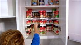 Spicy Ablage stapelbar Spice Rack Organizer hält bis zu 64Gewürze -