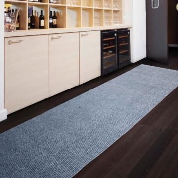 Floori Küchenläufer - 9 Größen wählbar - 100x180cm, grau -