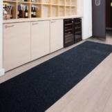 Floori Küchenläufer - 9 Größen wählbar - 100x250cm - anthrazit -