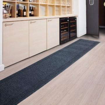 Floori Küchenläufer - 9 Größen wählbar - 66x250cm, anthrazit -