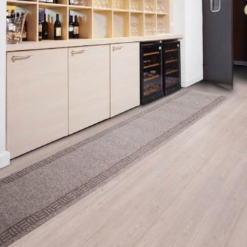 Floori Küchenläufer - 9 Größen wählbar - 66x250cm, beige -