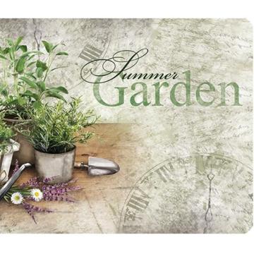 Küchenläufer 120x50 Summer Herbs Teppich Läufer Küchenmatte Fußmatte Bodenmatte -