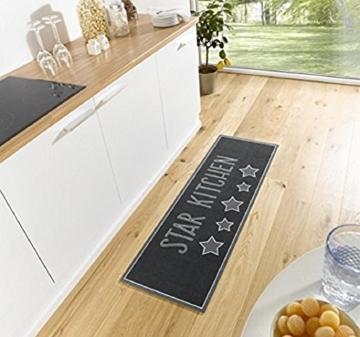 Küchenläufer / Küchenmatte / Dekoläufer für Küche und Bar / Teppich / Läüfer / Läufer / waschbare Küchenläufer / Küchendeko Modell ,,COOK & WASH - Star Kitchen - Sterne -