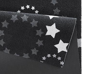 Küchenläufer / Küchenmatte / Dekoläufer für Küche und Bar / Teppich / Läüfer / Läufer / waschbare Küchenläufer / Küchendeko Modell ,,COOK & WASH - Star - Sterne - Kreise