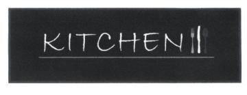 Küchenläufer / Küchenmatte / Dekoläufer für Küche und Bar / Teppich Läüfer / waschbare Küchenläufer / Küchendeko Modell ,,COOK & WASH kitchen -